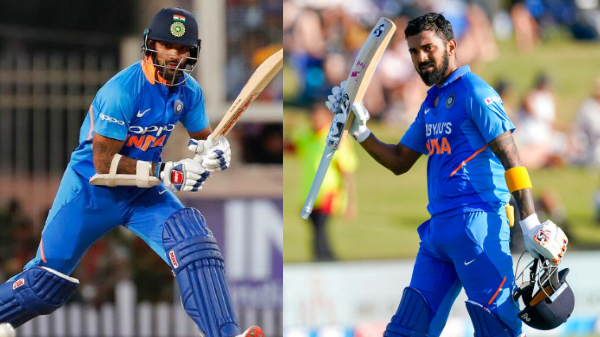 KL Rahul and Shikhar Dhawan On The Verge Of Surpassing MS Dhoni's T20 Record