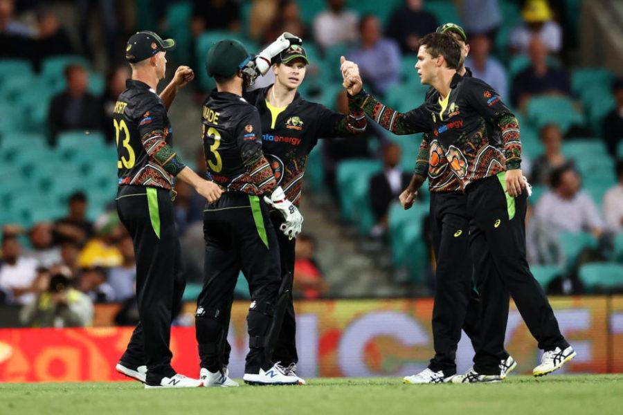 Australia win 3rd T20I