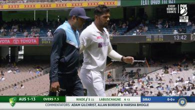 Umesh Yadav injury