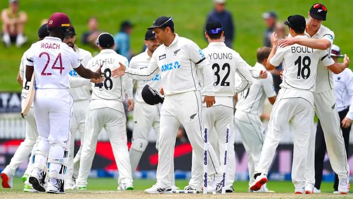New Zealand won by an innings & 134 Runs