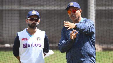 Ajinkya Rahane-Ravi Shastri-Brisbane Test