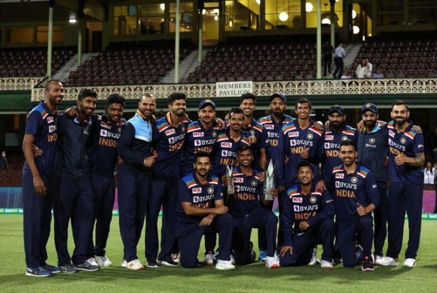India ICC T20I rankings