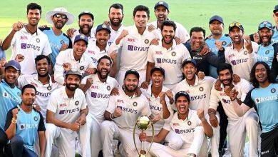 Team India Series Win
