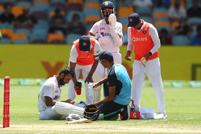 Cheteshwar Pujara Injury