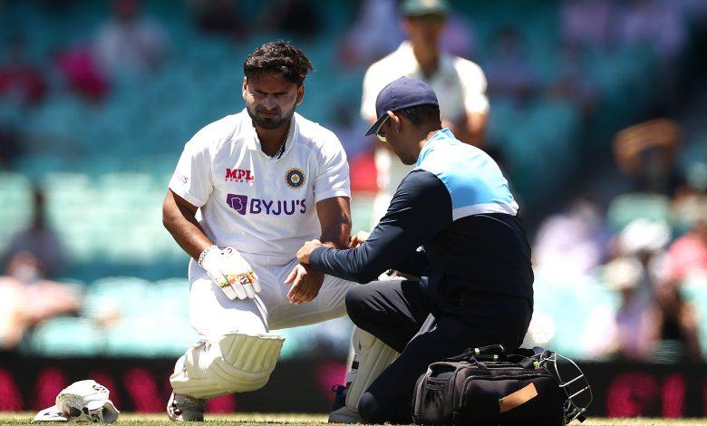 Rishabh Pant Injury