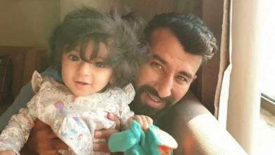 Cheteshwar Pujara daughter
