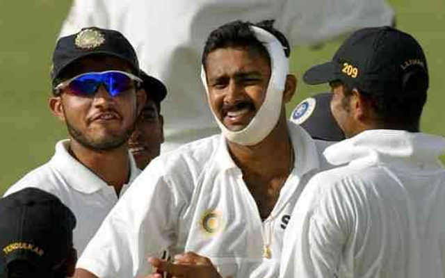 Indian player injury