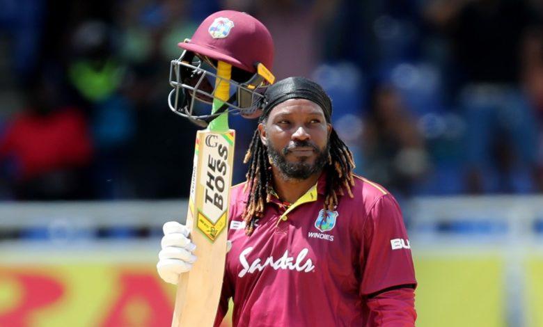 Chris Gayle West Indies squad