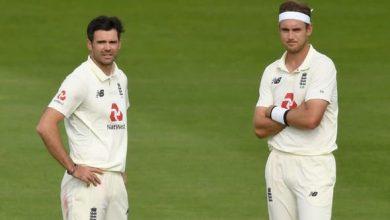 James Anderson-Stuart Broad vs India