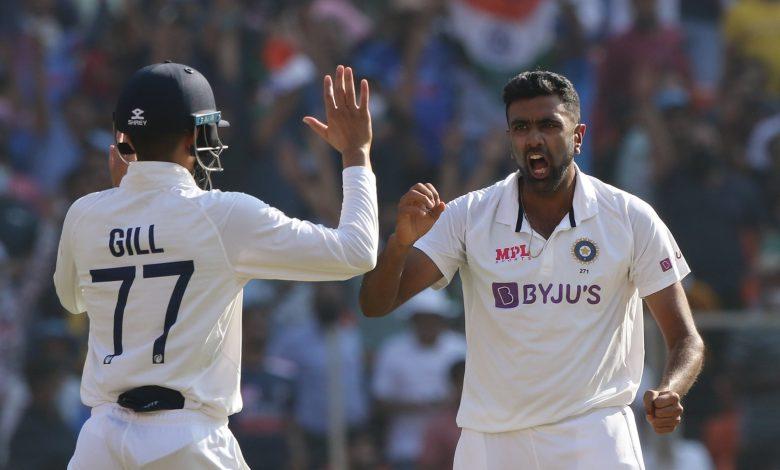 Ravichandran Ashwin-Ollie Pope wicket