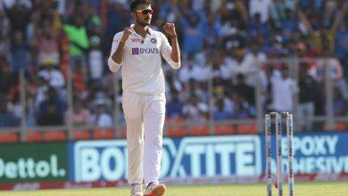 Axar Patel dismisses Zak Crawley Pink-Ball Test