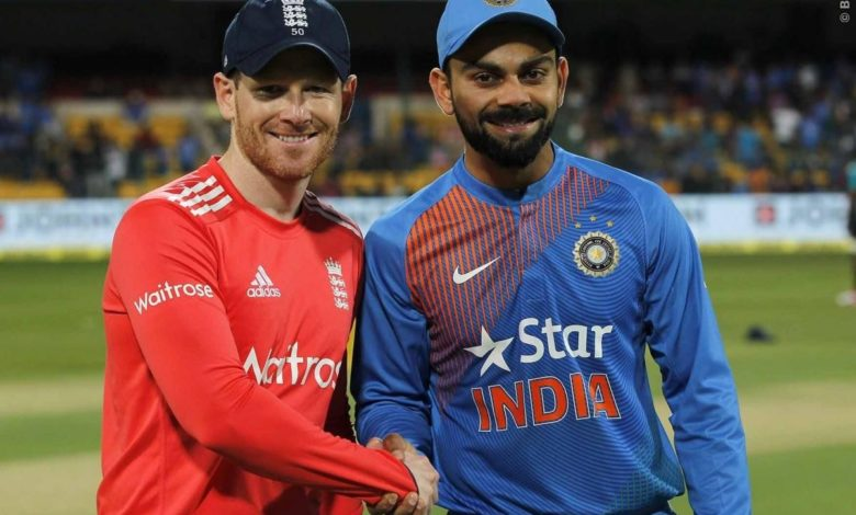 India vs England ODI series BCCI