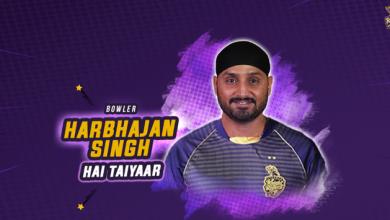 Kolkata Knight Riders Harbhajan Singh