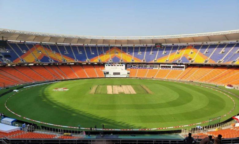 Motera Stadium India v England Pink-Ball Test