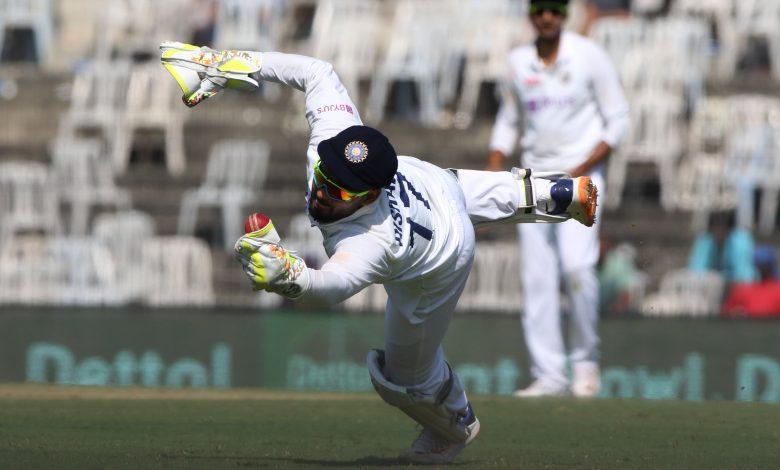 Rishabh Pant catch