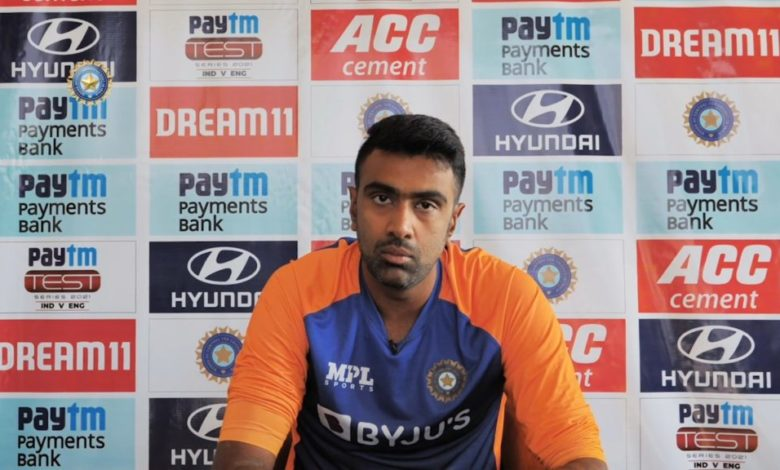 ravichandran ashwin pitch