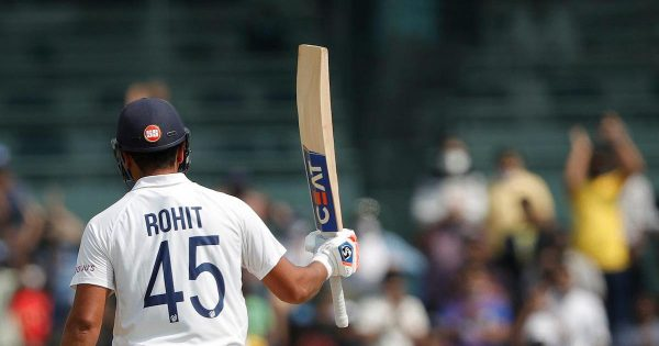 Rohit Sharma Ton Record