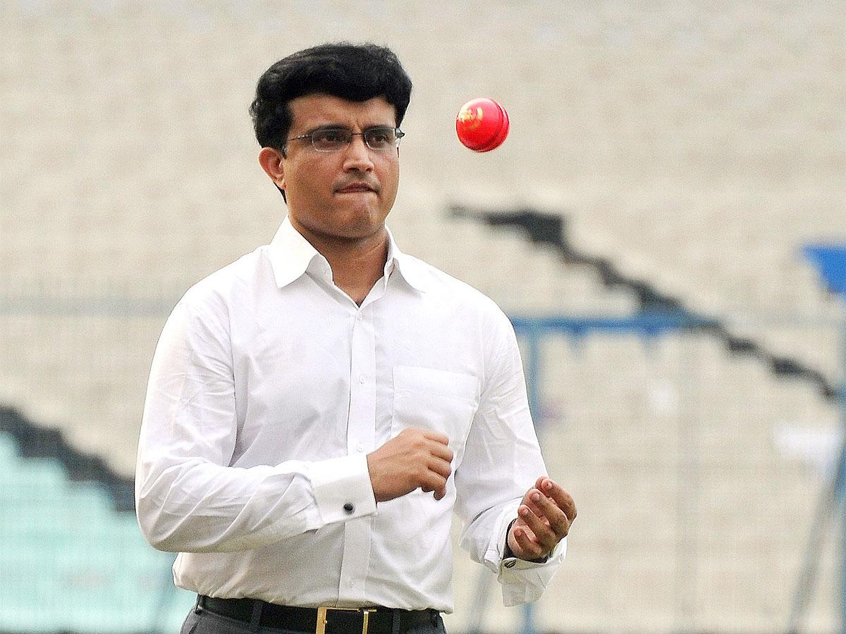 Sourav Ganguly Pink-Ball