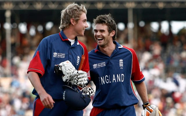 broad anderson Funny Moments Cricket
