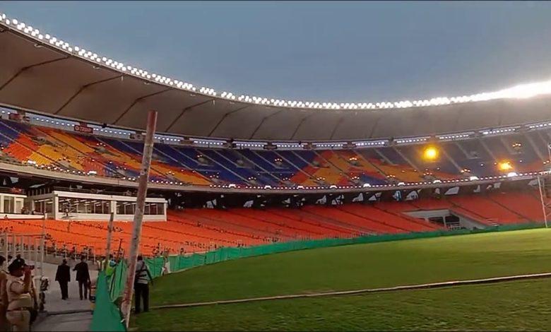 Narendra Modi Stadium lights