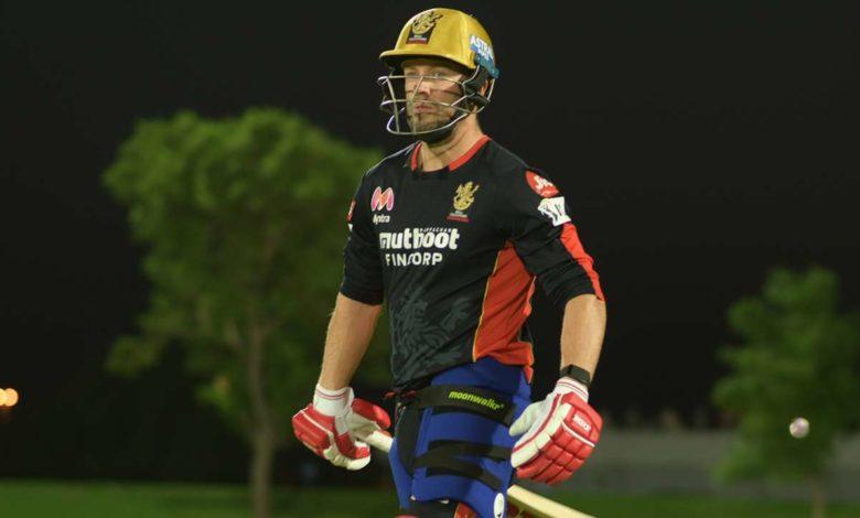AB de Villiers training IPL 2021
