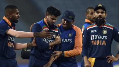 Shreyas Iyer shoulder injury
