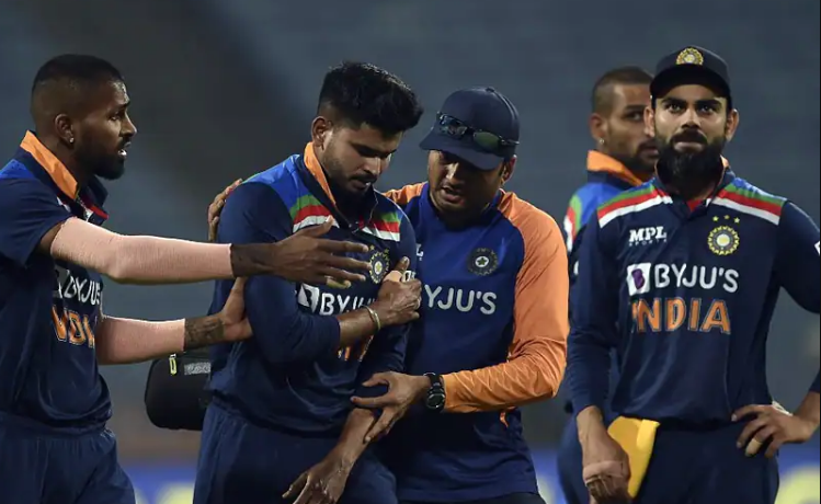 Shreyas Iyer shoulder injury