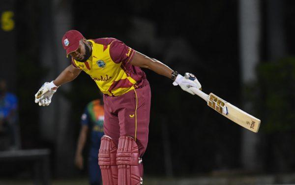 West Indies Kieron Pollard Six Sixes