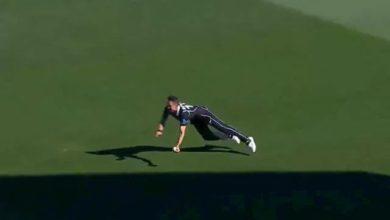 Trent Boult catch Liton Das