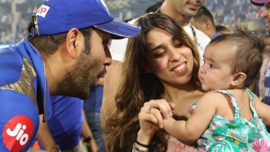 Ritika Posts an adorable picture of Rohit Sharma (PC- IPLT20)