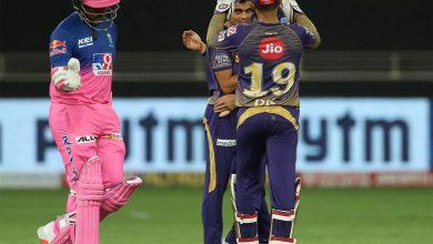 Kolkata Knight Riders vs RR IPL 2021