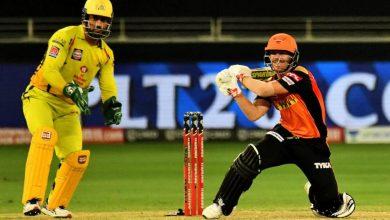 IPL 2021: CSK v SRH