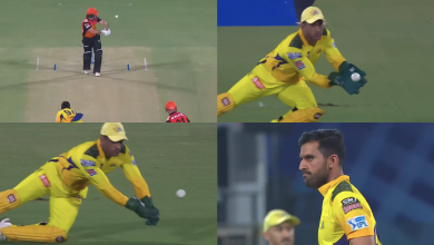 Deepak Chahar gives stern look (photo: cricket addictor)