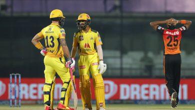 Chennai Super Kings vs SRH IPL 2021 Match 23