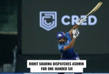 rOHIT SHARMa ONE-HAND SIX