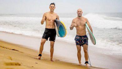 Chris Lynn and Trent Boult