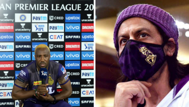 Andre Russell Shah Rukh Khan