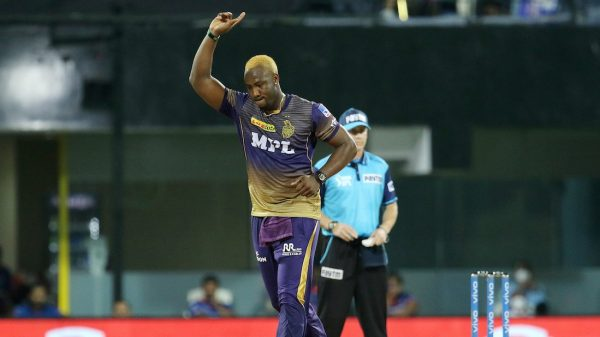 Twitter Erupts After Andre Russell Picks Up His Maiden Fifer For KKR