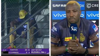 Andre Russell vs CSK