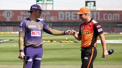 Sunrisers Hyderabad Kolkata Knight Riders