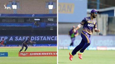 Rahul Tripathi Catch IPL 2021 Match 10