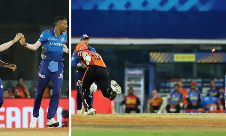 Watch - Hardik Pandya Hits The Target To Catch David Warner Short Of His Crease