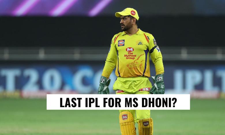 MS Dhoni CSK IPL