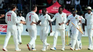 Zimbabwe test team