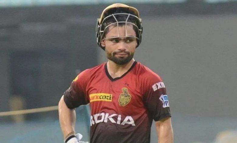 Rinku Singh replacement