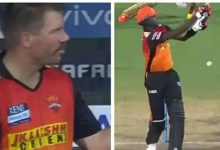 David Warner Harshal Patel