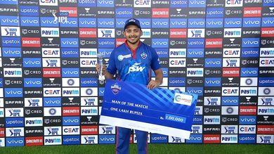 IPL 2021: Prithvi Shaw scared Rishabh Pant (PC_ IPLT20)
