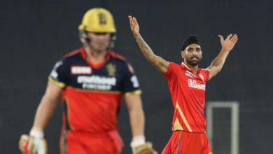 Yuvraj Singh Harpreet Brar against RCB (PC- DNA India)