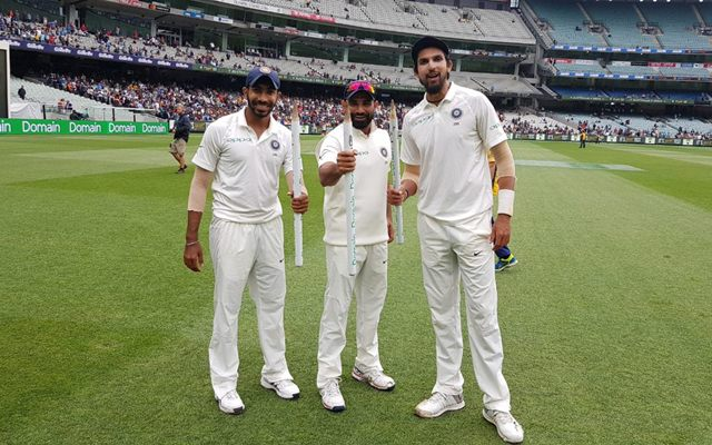 Indian Pace Trio-Mohammed Shami