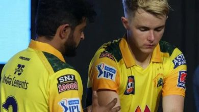 Suresh raina sam curran